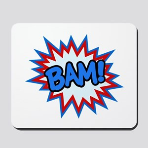 Hero Bam Bursts Mousepad