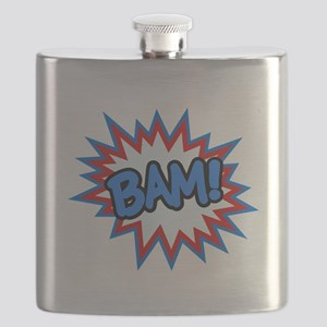 Hero Bam Bursts Flask