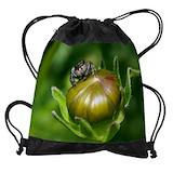 Jumping spider Drawstring Bag