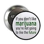 "Marijuana Is Part Of The Future 2.25"" Button"