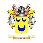 Berner Square Car Magnet 3