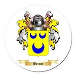 Berner Round Car Magnet