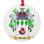 Berndt Round Ornament