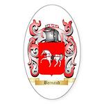 Bernaud Sticker (Oval 10 pk)