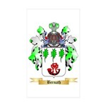 Bernath Sticker (Rectangle 50 pk)