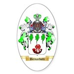 Bernardotti Sticker (Oval 10 pk)