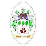 Bernardotti Sticker (Oval 50 pk)