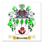 Bernardos Square Car Magnet 3