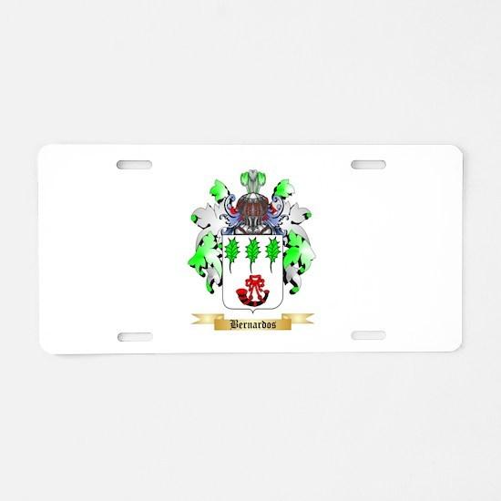 Bernardos Aluminum License Plate