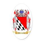 Bernardo Oval Car Magnet