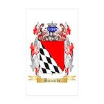 Bernardo Sticker (Rectangle 50 pk)