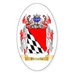 Bernardo Sticker (Oval 50 pk)