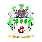 Bernardi Square Car Magnet 3