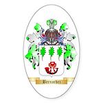 Bernardez Sticker (Oval 10 pk)