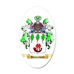 Bernardette Oval Car Magnet
