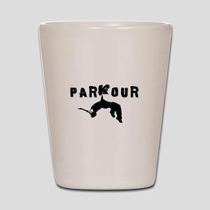 Parkour Athlete Shot Glass