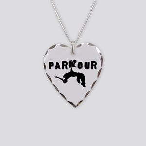 Parkour Athlete Necklace