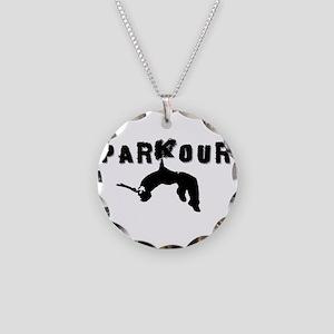 Parkour Athlete Necklace