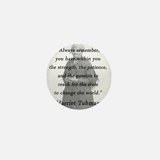 Tubman - Within You Mini Button