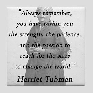 Tubman - Within You Tile Coaster