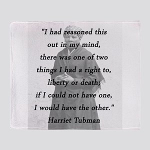 harriet tubman quote blankets cafepress