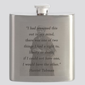 Tubman - Reasoned This Out Flask