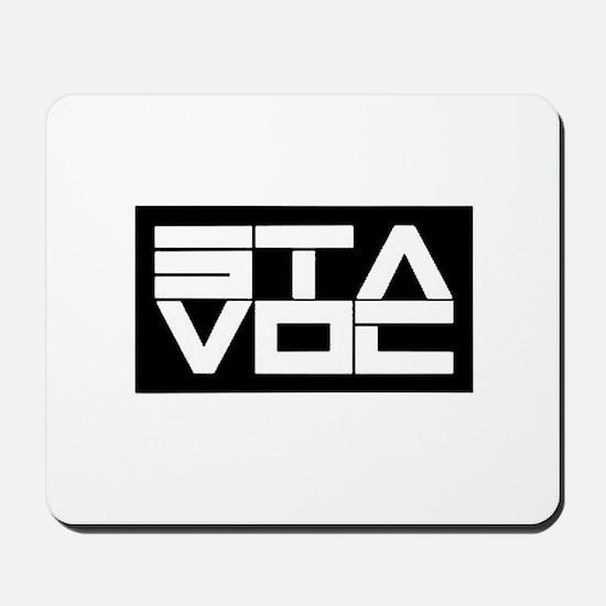 STAVOC logo Mousepad