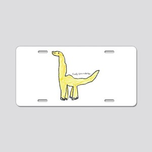 Apatosaurus Aluminum License Plate