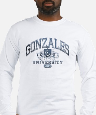 Gonzales Last name University Class of 2014 Long S