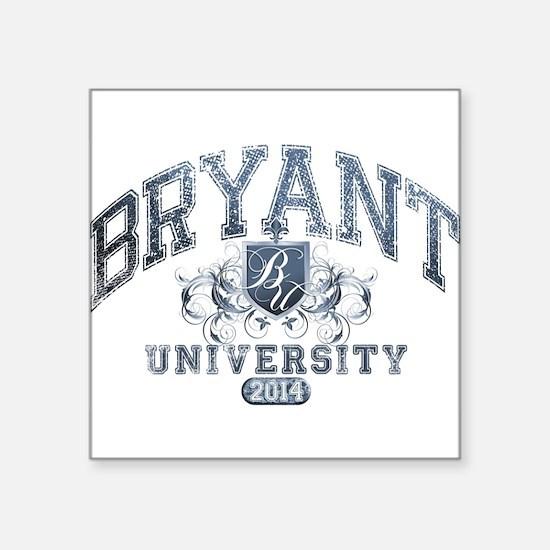 Bryant Last Name University Class of 2014 Sticker