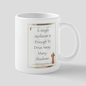 Saint Pope Francis Simple Prayer Mug