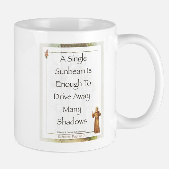Saint Pope Francis Simple Prayer Mug