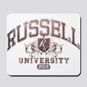 Russell Last Name University Class of 2014 Mousepa