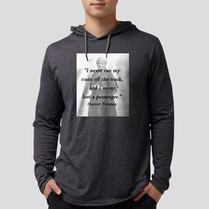 Tubman - Never Lost a Passenger Mens Hooded Shirt