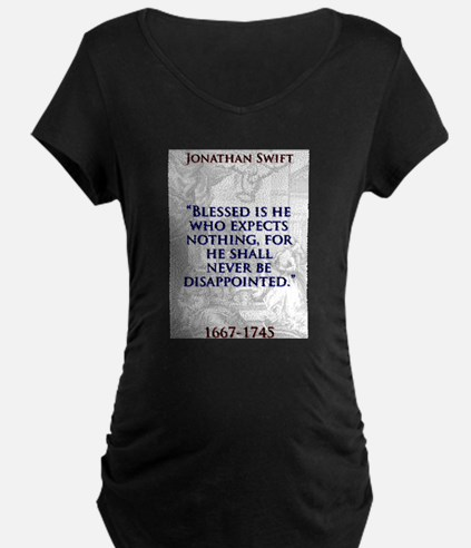 Blessed Is He Who Expects Nothing - J Swift Matern