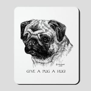 Pug Mousepad