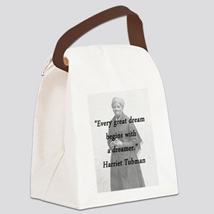 Tubman - Great Dream Canvas Lunch Bag