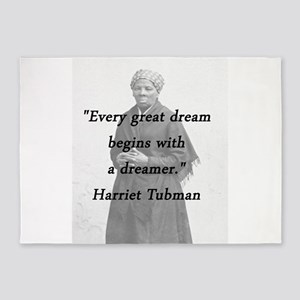 Tubman - Great Dream 5'x7'Area Rug