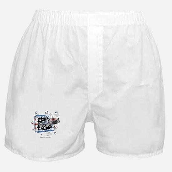 Hockey Puck Boxer Shorts