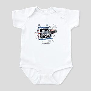 Hockey Puck Infant Bodysuit
