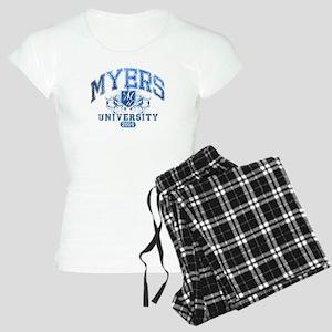 Myers last name University Class of 2014 Pajamas