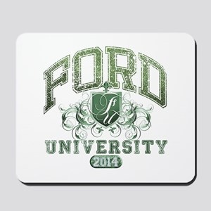 Ford Last name University Class of 2014 Mousepad