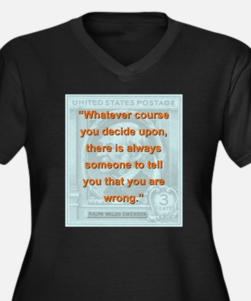Whatever Course You Decide Upon - RW Emerson Women