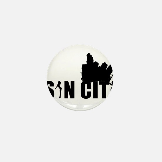 Sin City Radio Mini Button