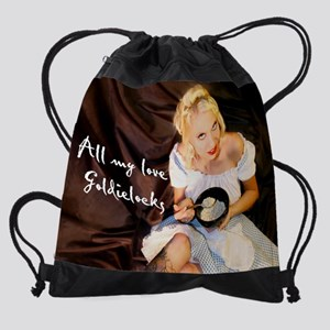 GOLDIE Drawstring Bag
