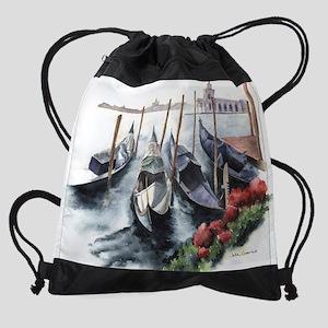 Venice Shores Drawstring Bag