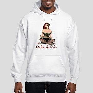Redheads Rule Hooded Sweatshirt