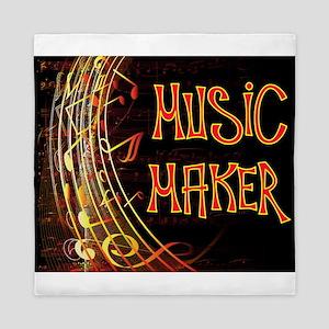 MUSIC MAKER Queen Duvet