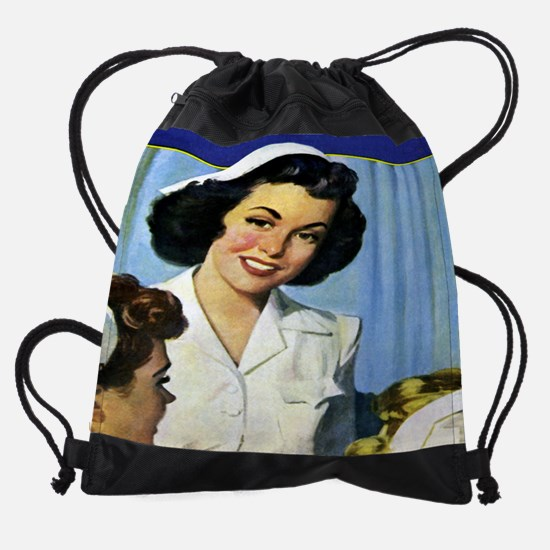 nursechief cal 05.jpg Drawstring Bag