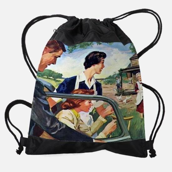 cherryamesruralnurse cal 05.jpg Drawstring Bag